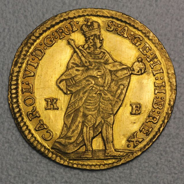 Gold Dukate Ungarn 1734