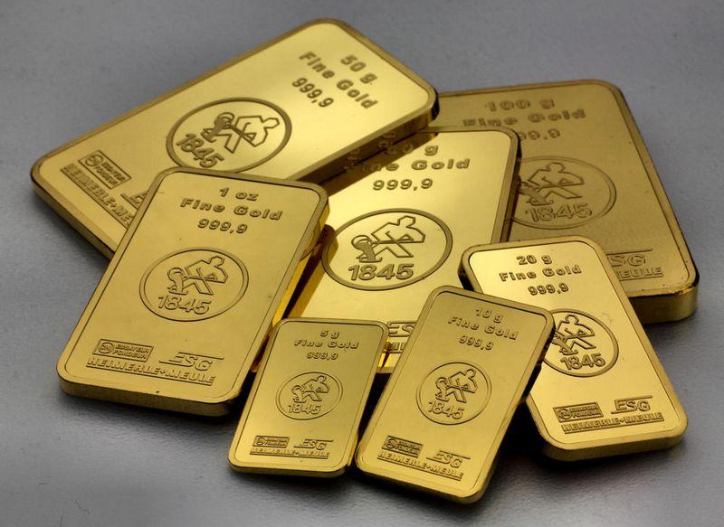 goldbarren scheideanstalt