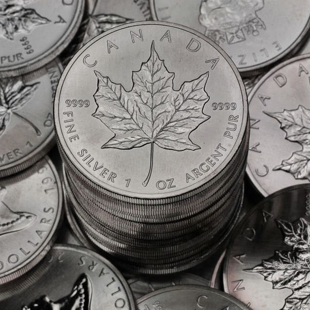 Maple Leaf Silbermünzen 1oz Kanada