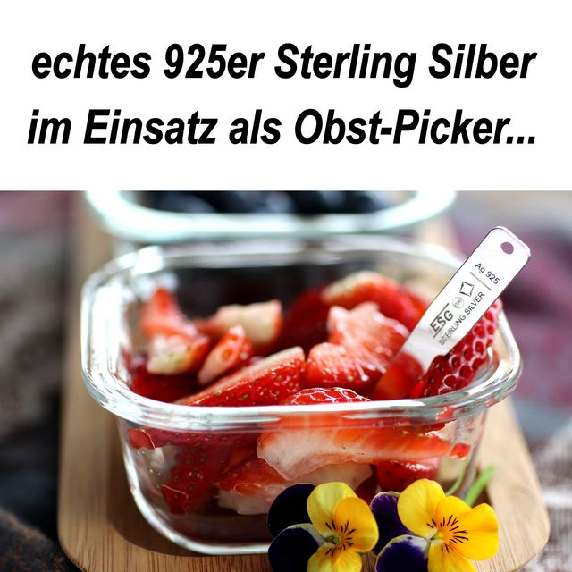 Picker Gabel aus Sterlingsilber