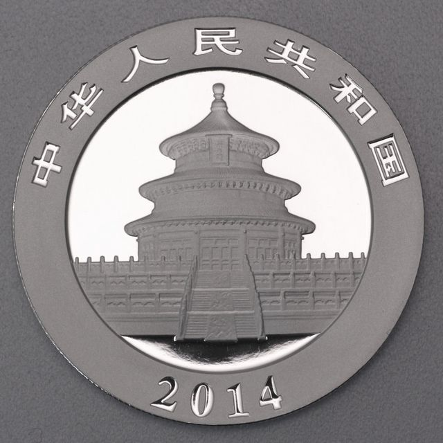 1oz Silbermünze 2014 China Panda