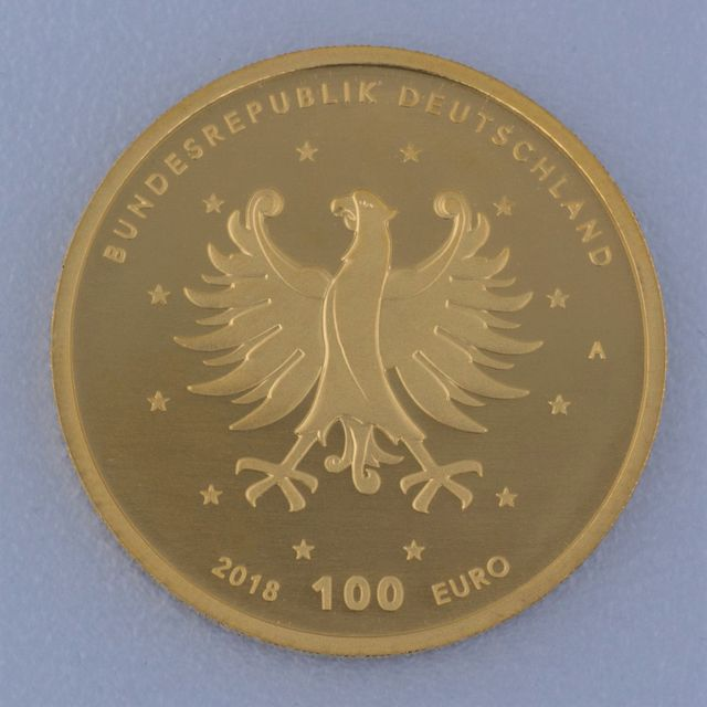 Goldmünze 100 Euro BRD 2018