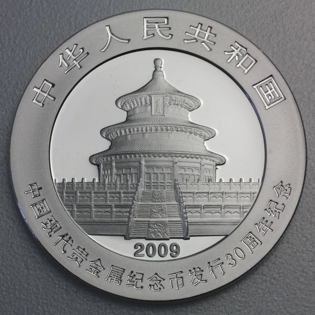 China Panda Silbermünzen International Coin Show