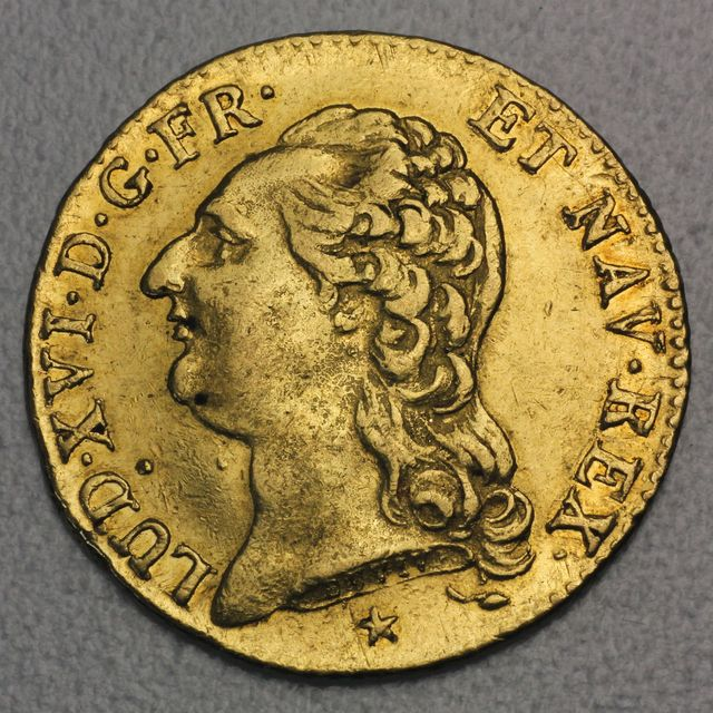 1 Louis d'or Goldmünze 1786 Louis XVI