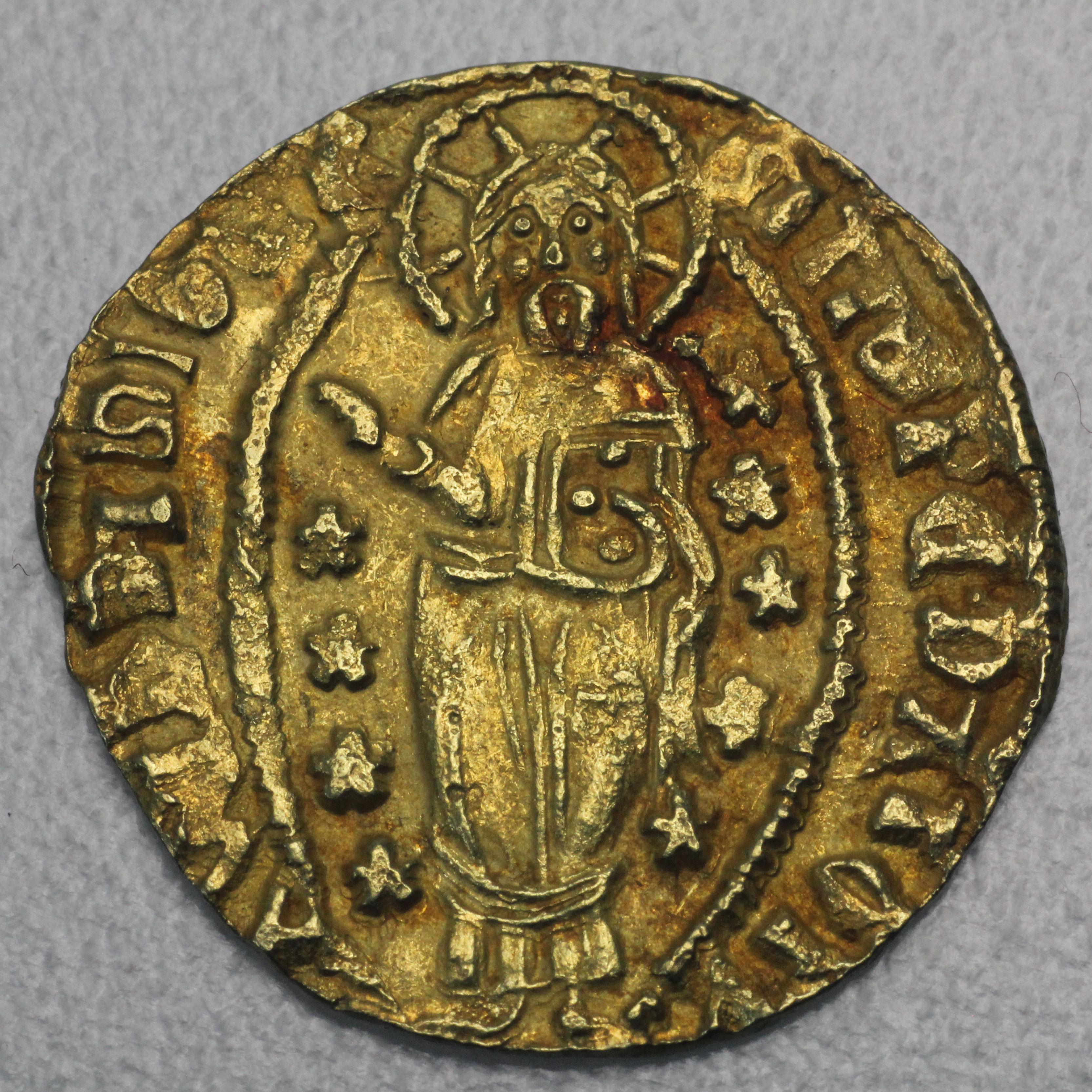 Venezianische Goldmünze