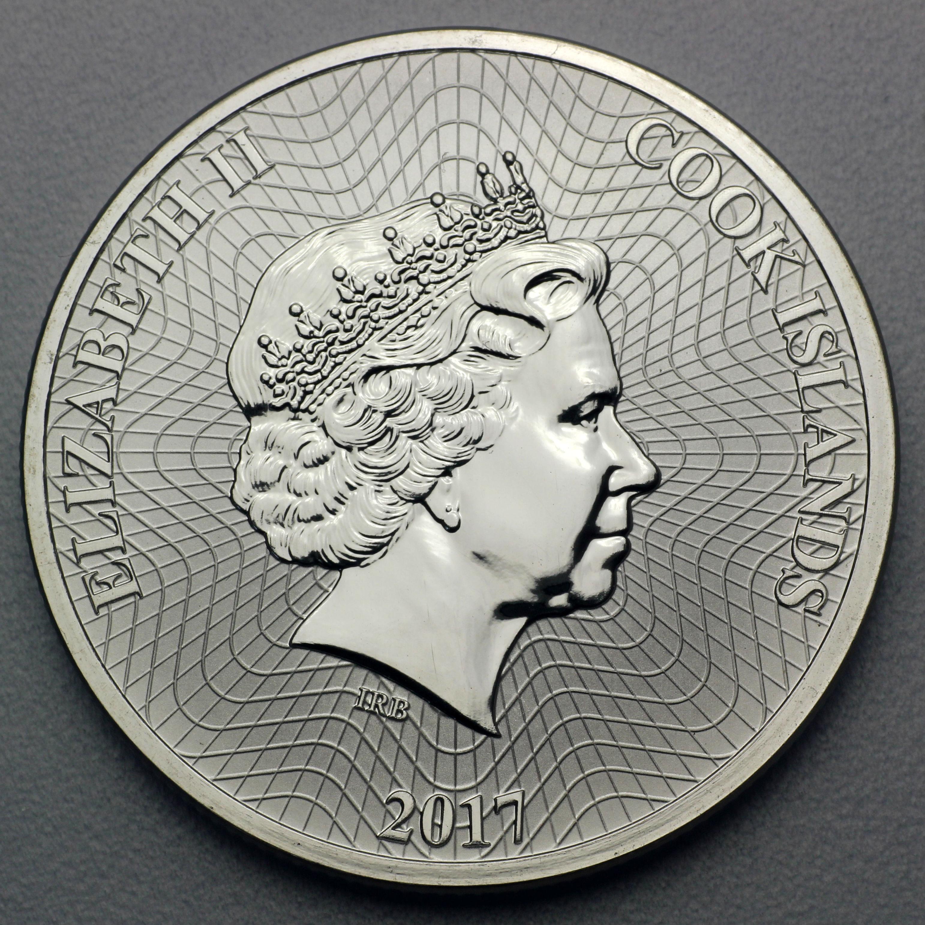 1 oz Cook Islands Silbermünzen Ankaufpreis Wert Infos | ESG