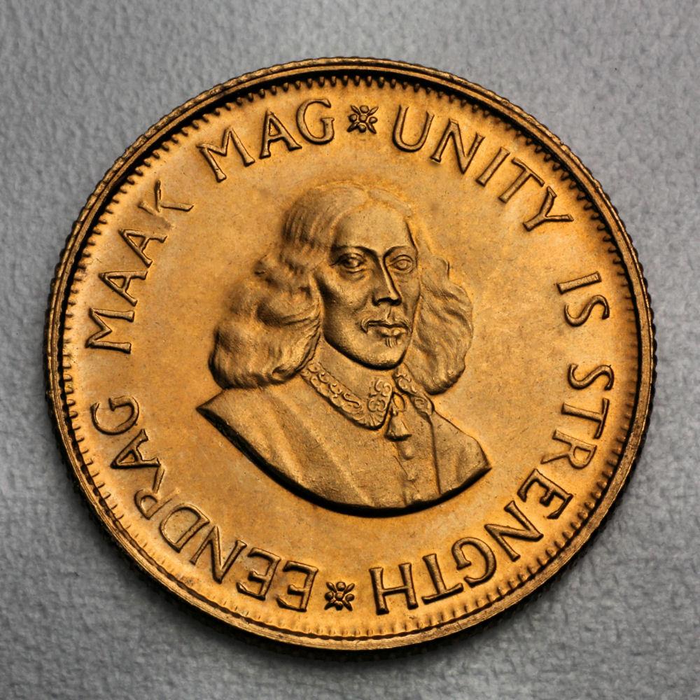 goldmünze südafrika 2 rand 1973